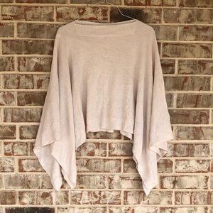 Lululemon Forward Flow Creme Sweater Poncho Cape